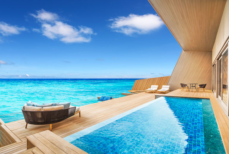 The St. Regis Maldives…