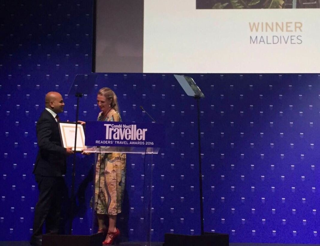 Maldives wins 'Best…